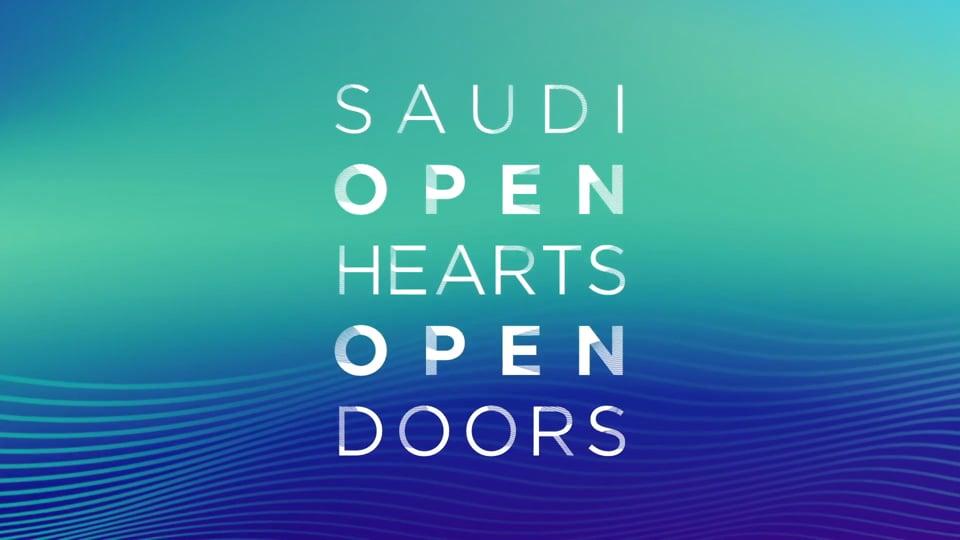 Open Saudi, Open Hearts, Open Doors