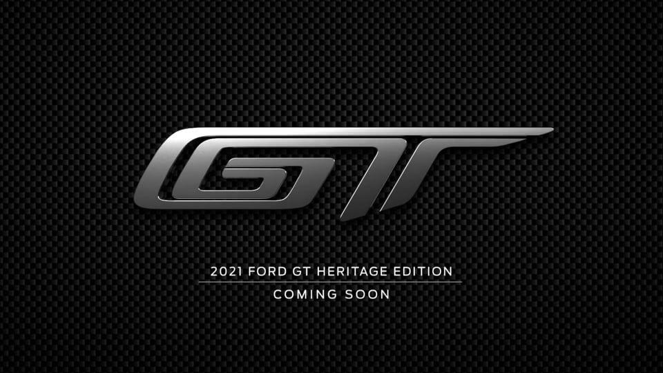 Ford GT Teaser 2021