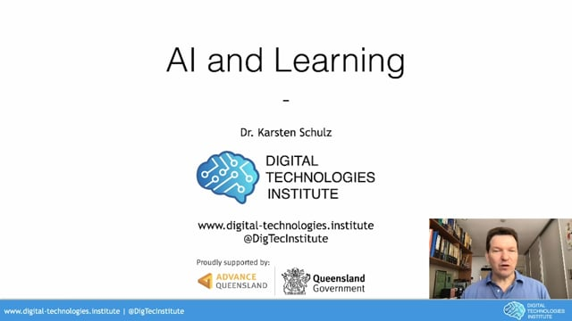 Artificial intelligence and learning