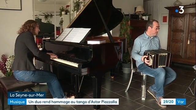 Astor Piazzolla : rencontre avec les auteurs de Libertad, FRANCE 3 VAR
