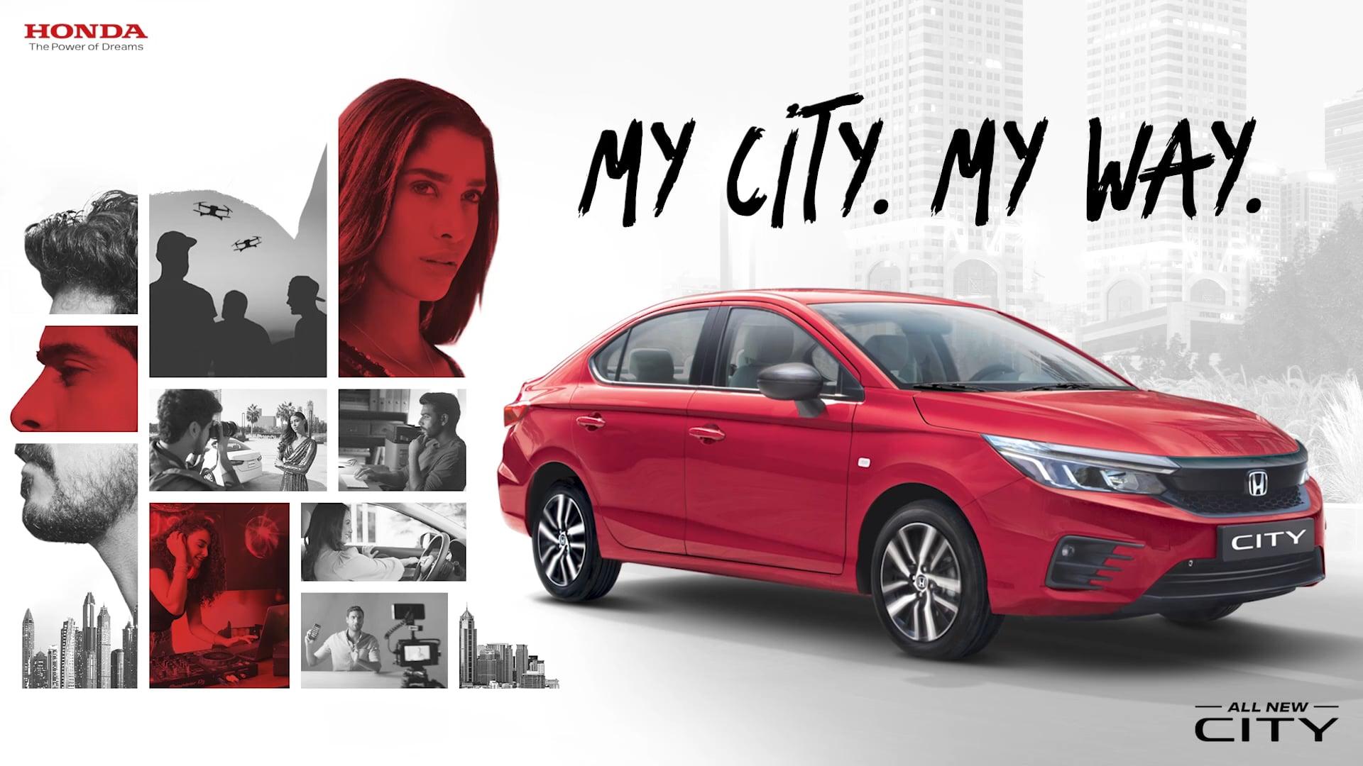 Honda - My City My Way