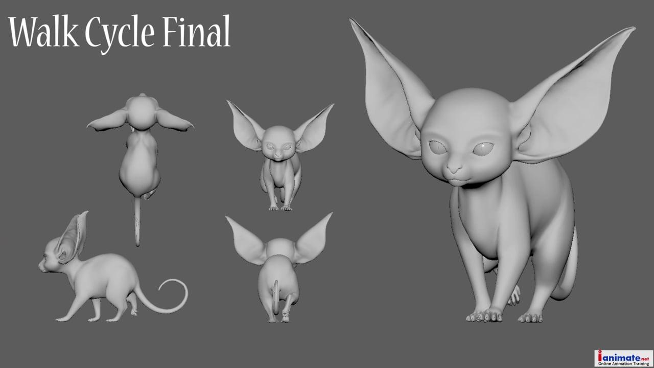 Ana Potter-Lesage - Ianimate Creature Workshop 1 Showreel 2020