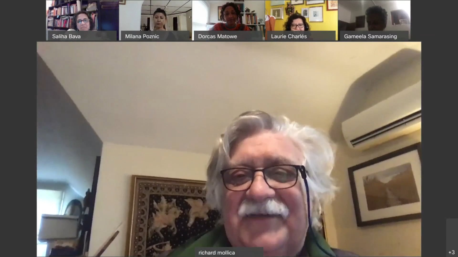 Panel X of Global Family Systems & Psychosocial Resilience Project, December 13th 2020, w Dr Richard Mollica