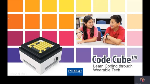 Code cube wearable device