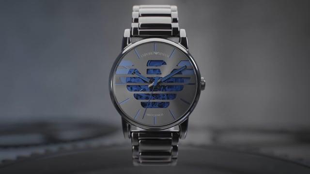 Emporio Armani | Meccanico Men's Watch - Spot