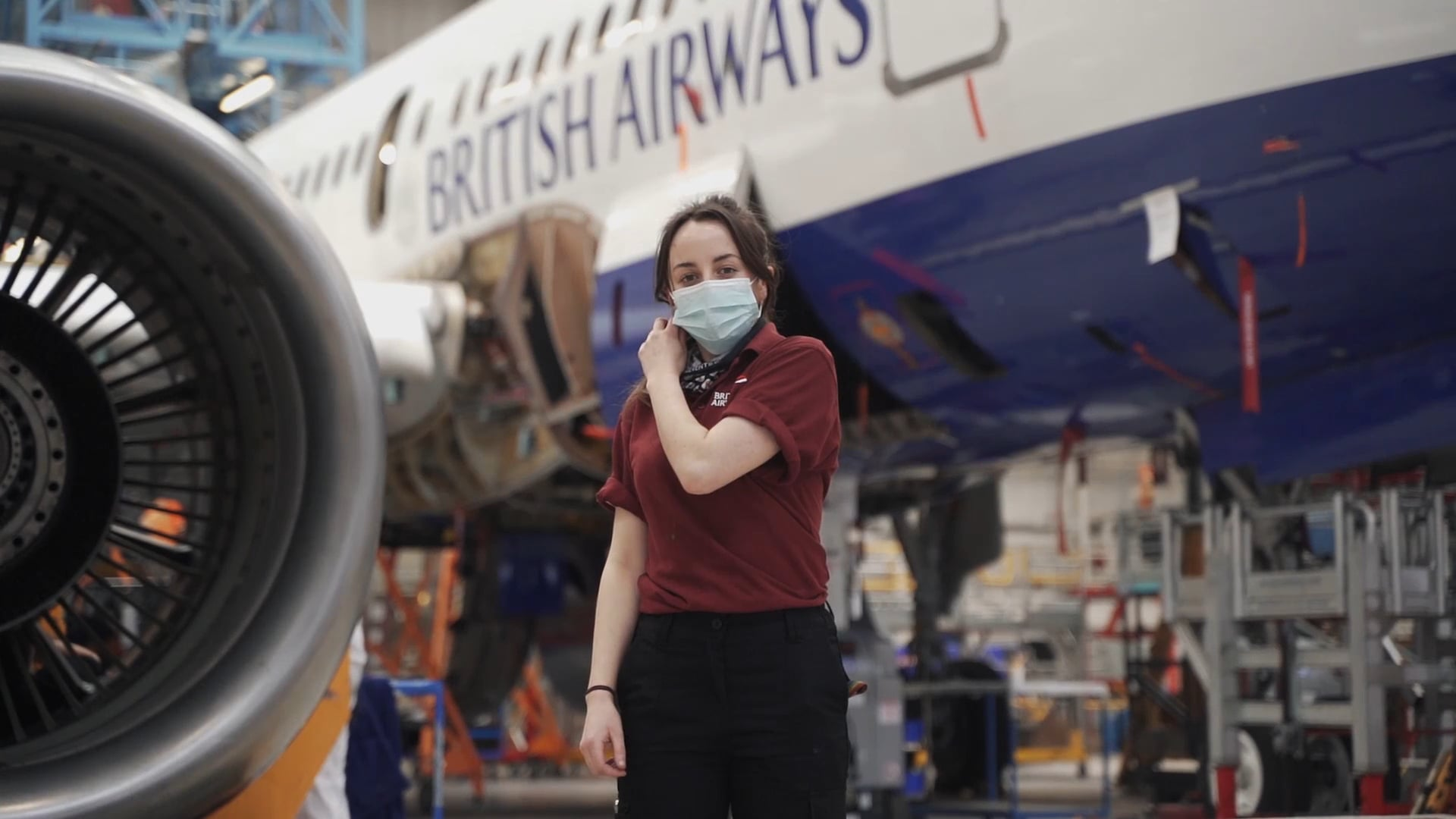 British Airways Flying Start - Red Nose Day Compilation