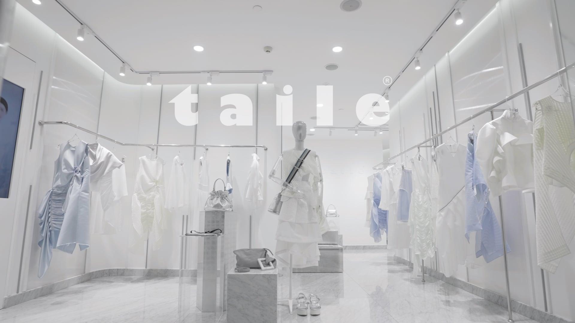 TAILE Flagship Store (Luxury Fashion Store Interior Promo)