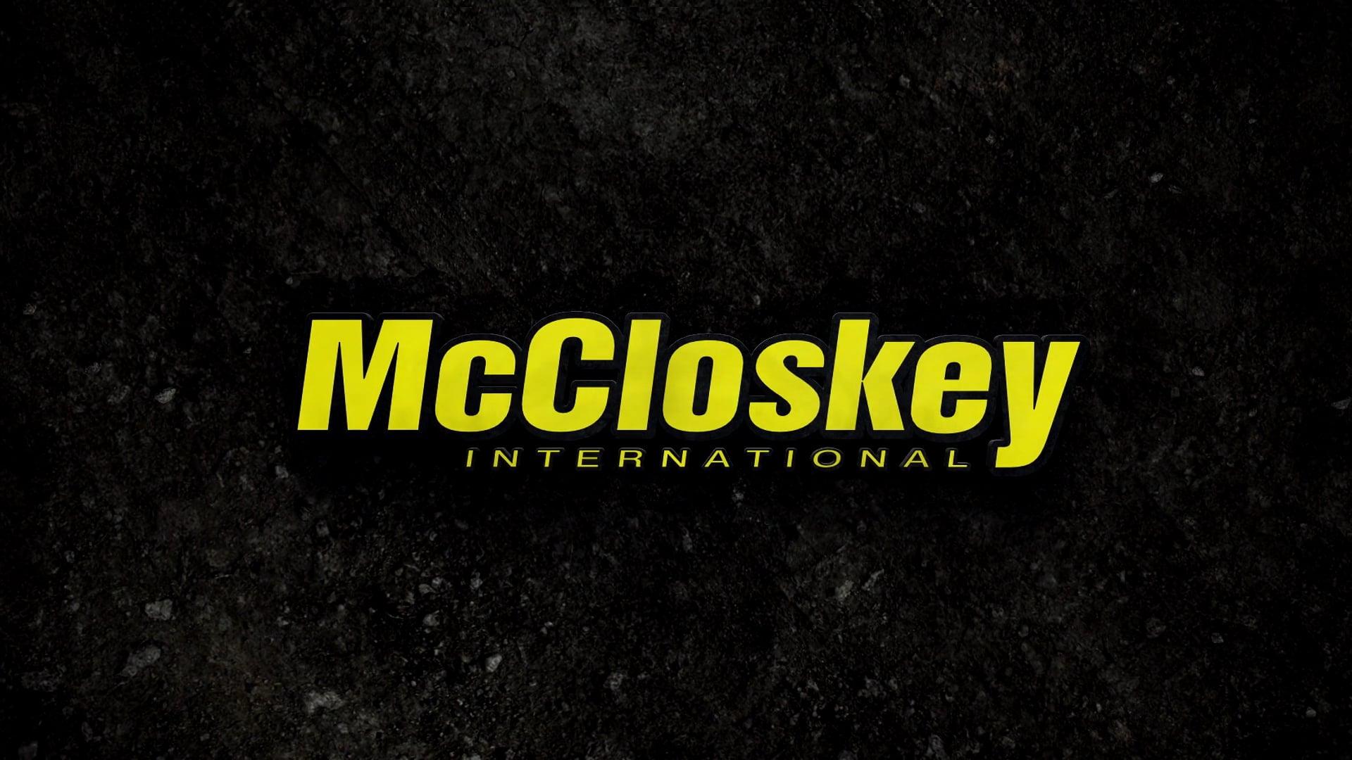 McCloskey International - 14C Trailer.