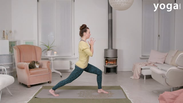 Handsfree yoga: No Hands Vinyasa Flow