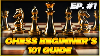 Chess 101 Ep 1 - Learning the Basics