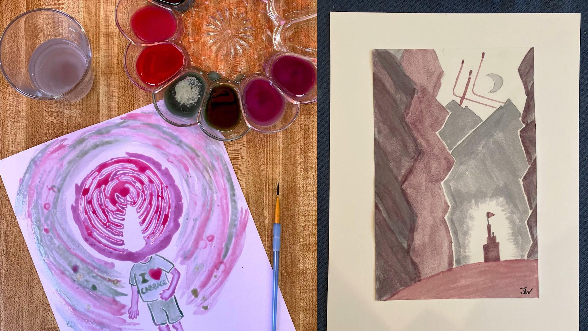 Cabbage Pigment Ideas