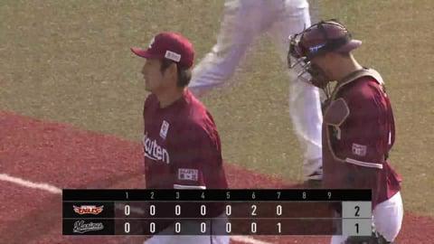 【7回裏】イーグルス・渡邊佑 一打逆転のピンチを見事切り抜ける!! 2021/3/31 M-E