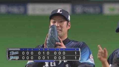 【9回裏】抑えた!! ライオンズ・増田 ノーアウト満塁から得点許さずサヨナラ勝ちを阻止!! 2021/3/31 F-L