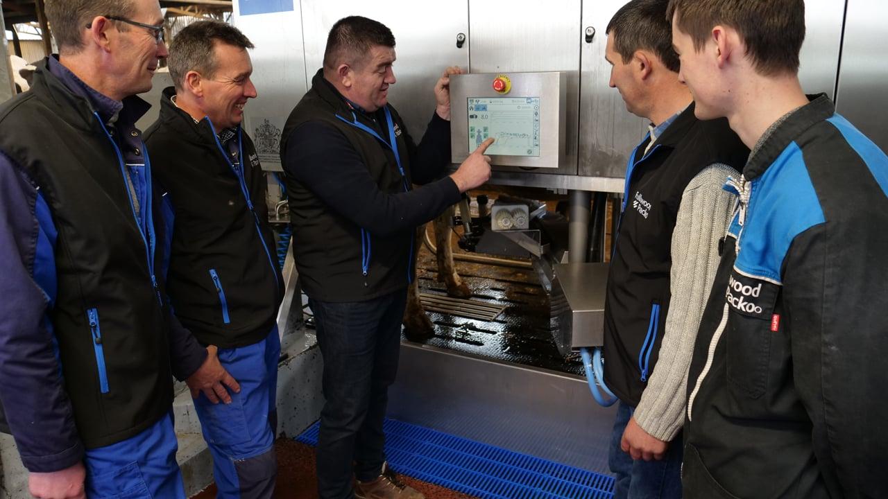 « Nos robots de traite trient le lait selon les taux »