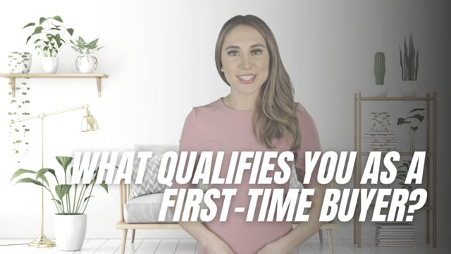 What qualifies you as a first-time buyer?