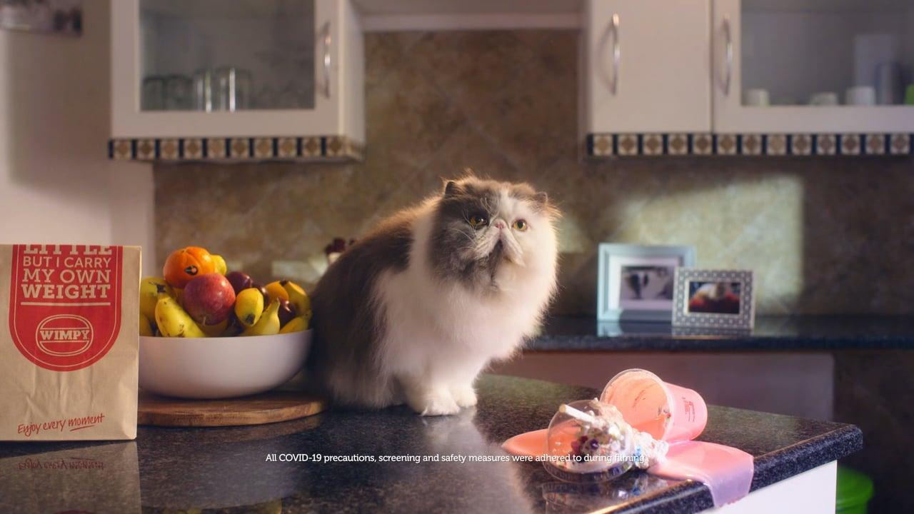 Commercial: Wimpy   Cat