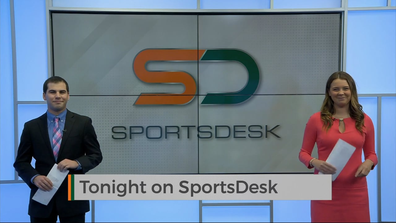 SportsDesk @ 7pm   March 26, 2021   UMTV Live