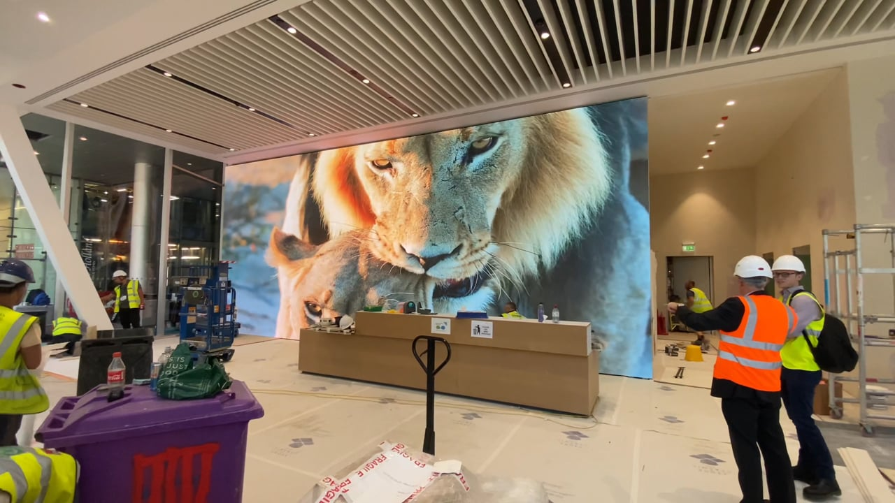 Citypoint LED Screen Installation