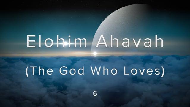 W2-6.Gaby Knox - Elohim Ahavah (The God Who Loves).mov