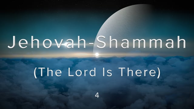 W1-4.Carol Regehr - Jehovah-Shammah (The Lord Is There).mov