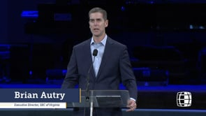 Brian Autry at Annual Homecoming 2019   SBC of Virginia
