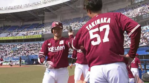 【2回表】絶好調!! イーグルス・茂木 勝ち越し2ランホームラン!! 2021/4/1 M-E