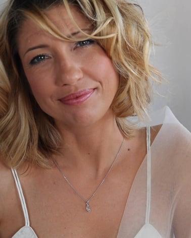 Vídeo: Collar Colgante Aguamarina y Diamantes Cadena Plata de Ley incluida