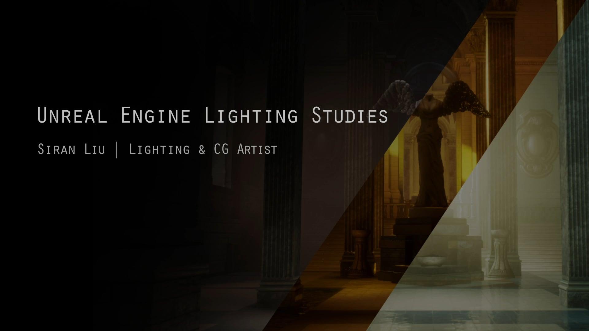 UE Lighting Studies