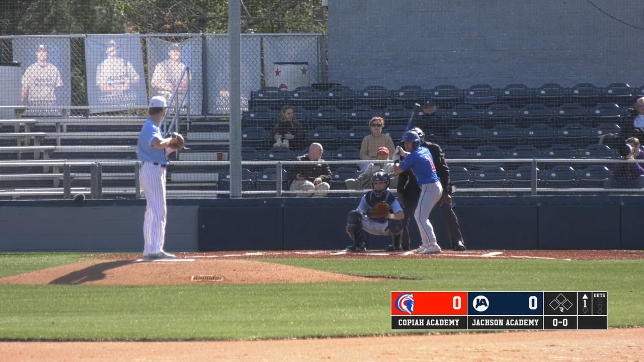 Varsity Baseball DH vs Copiah - Game 1 - 04-01-21