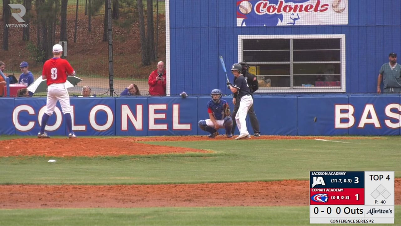 Varsity Baseball vs Copiah - 03-30-21