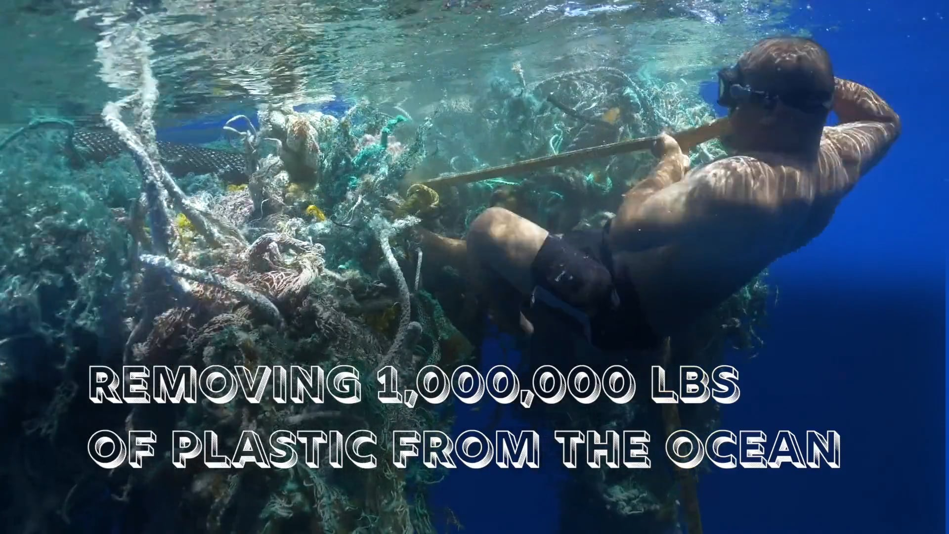 Remove 1,000,000 Tons of Plastic From Ocean