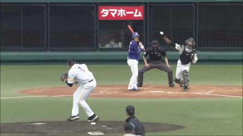 【ファーム】ホークス・九鬼 強肩を見せ盗塁を阻止する‼ 2021/4/3 H-D(ファーム)