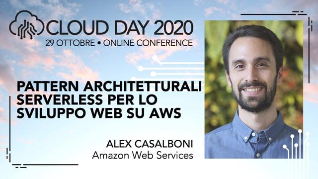 Pattern architetturali serverless per lo sviluppo web su AWS
