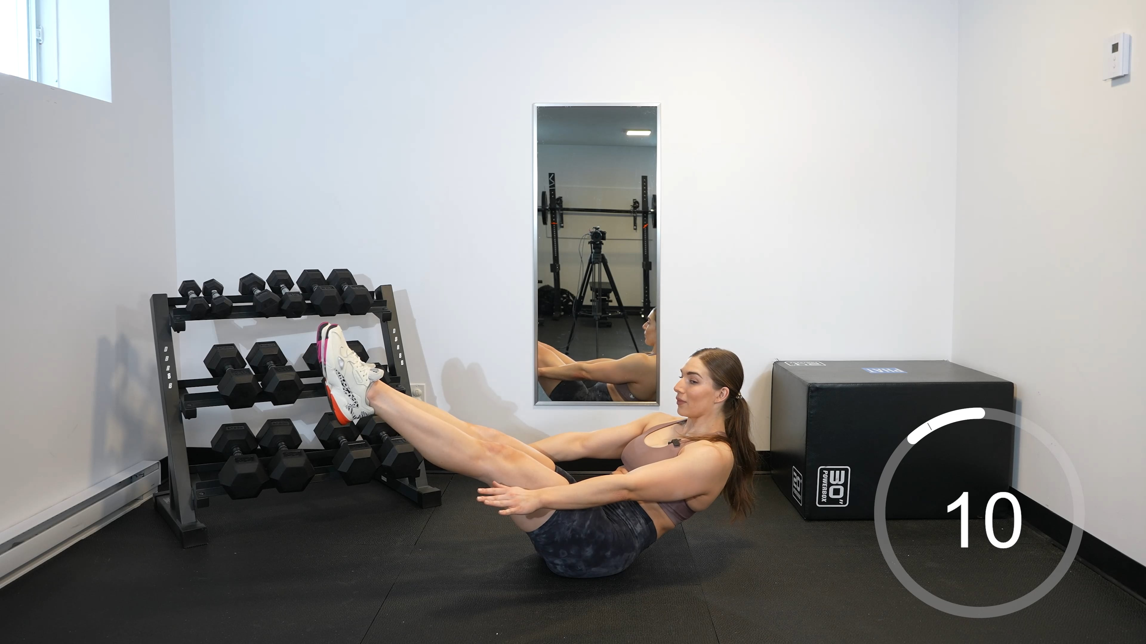 HIIT Full-Body 45 minutes sans équipement