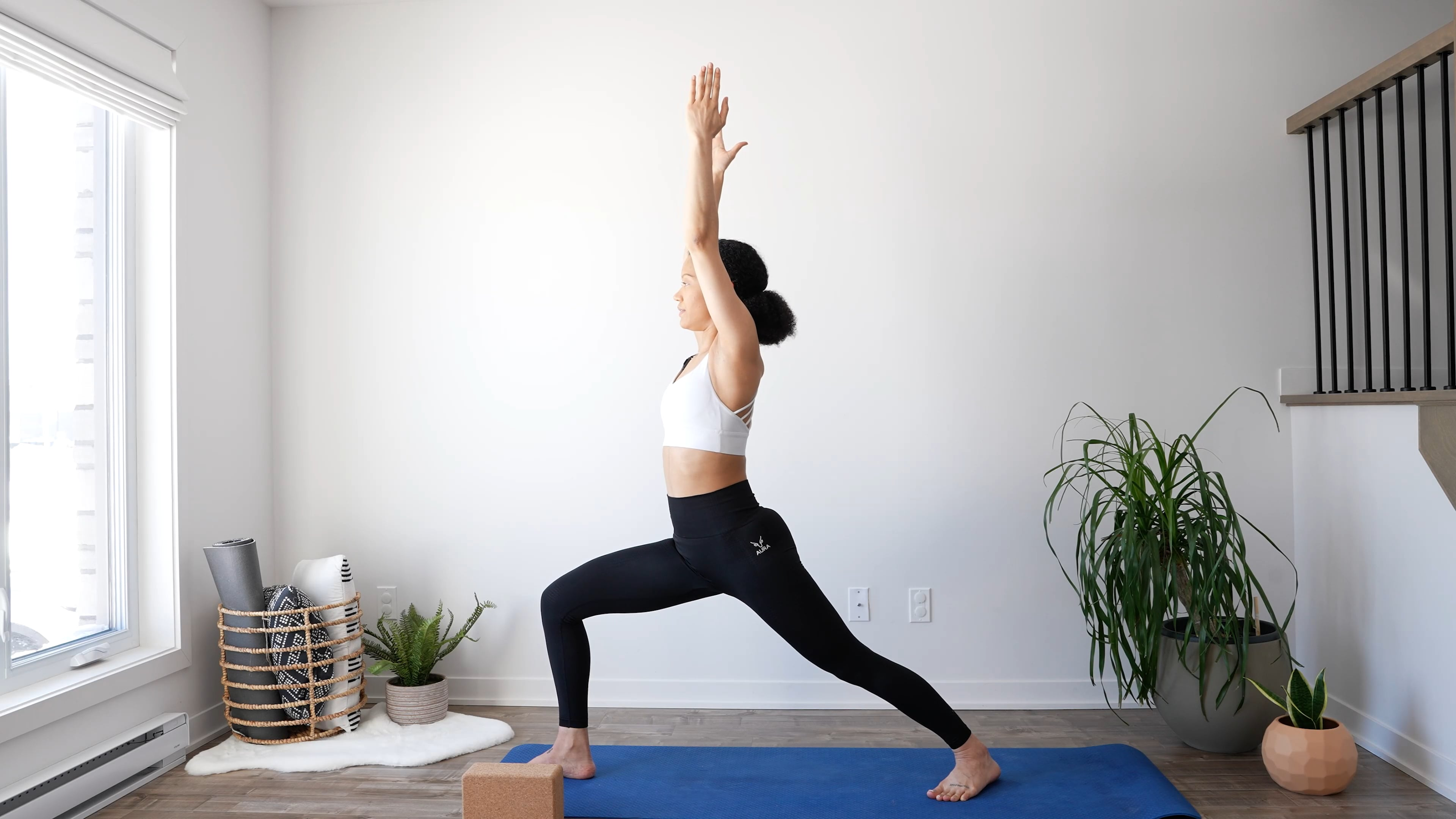 Power yoga pour renforcer les jambes