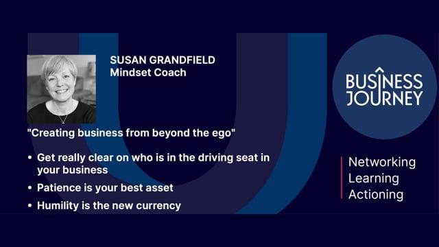 Susan Grandfield Trailer for 23 April event