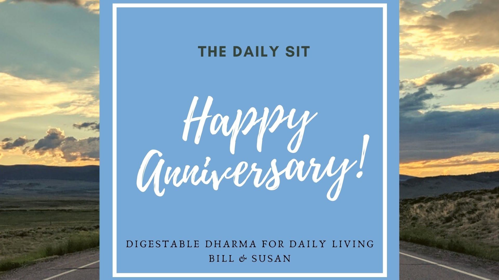 March 26: Happy Anniversary!