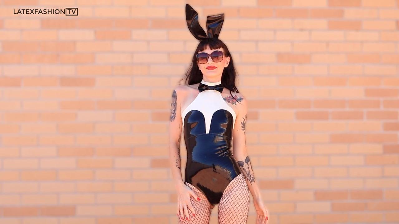 Stacie Mai Latex Bunny | LatexFashionTV