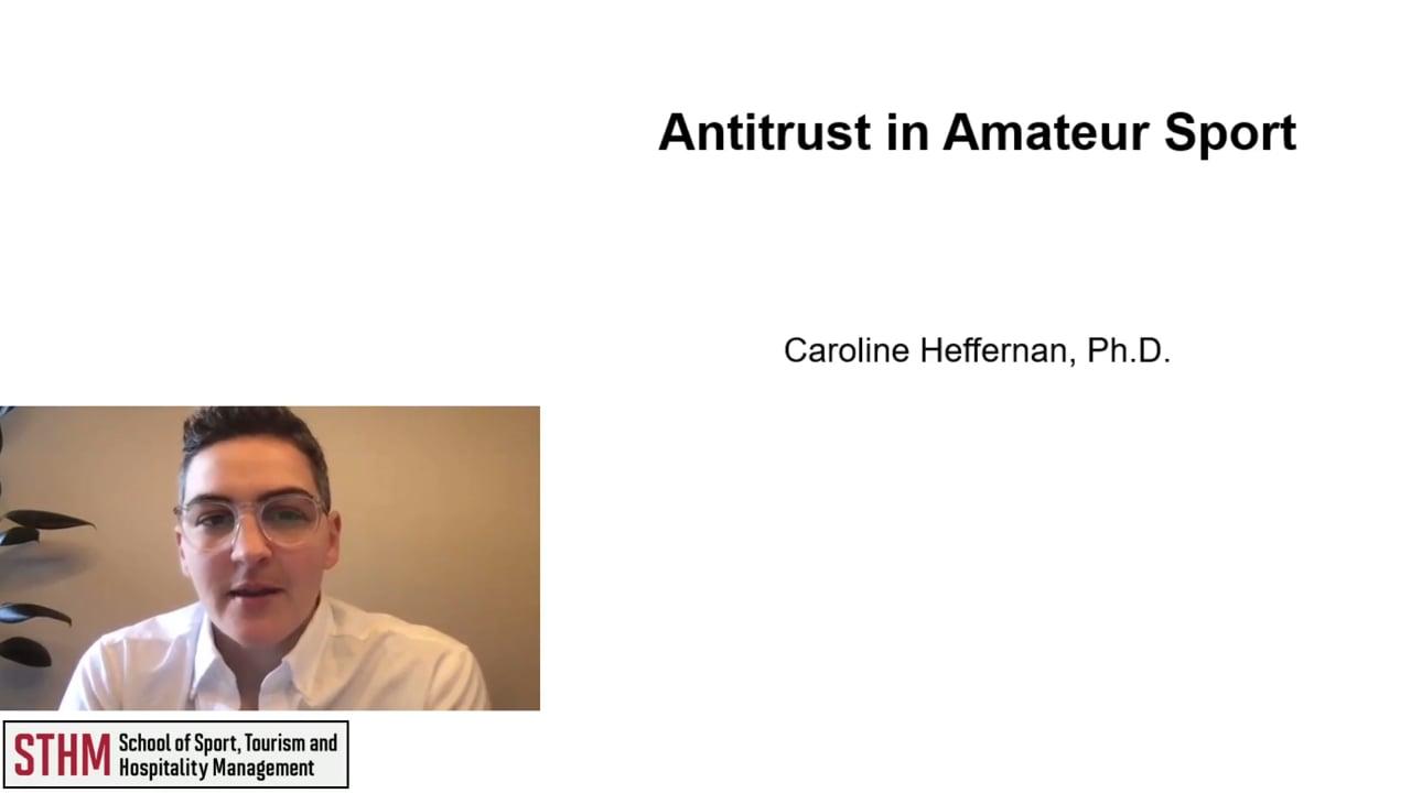 62027Antitrust in Amateur Sport