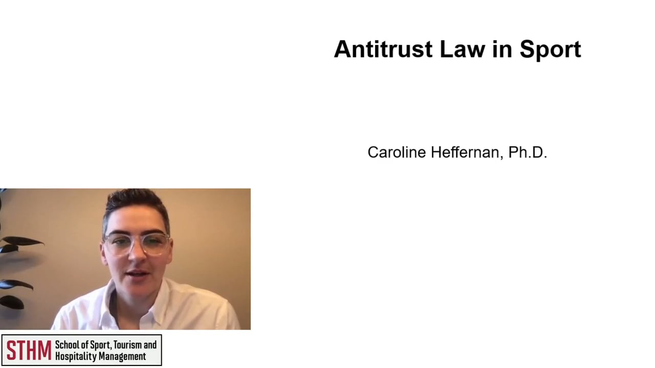 62026Antitrust Law in Sport