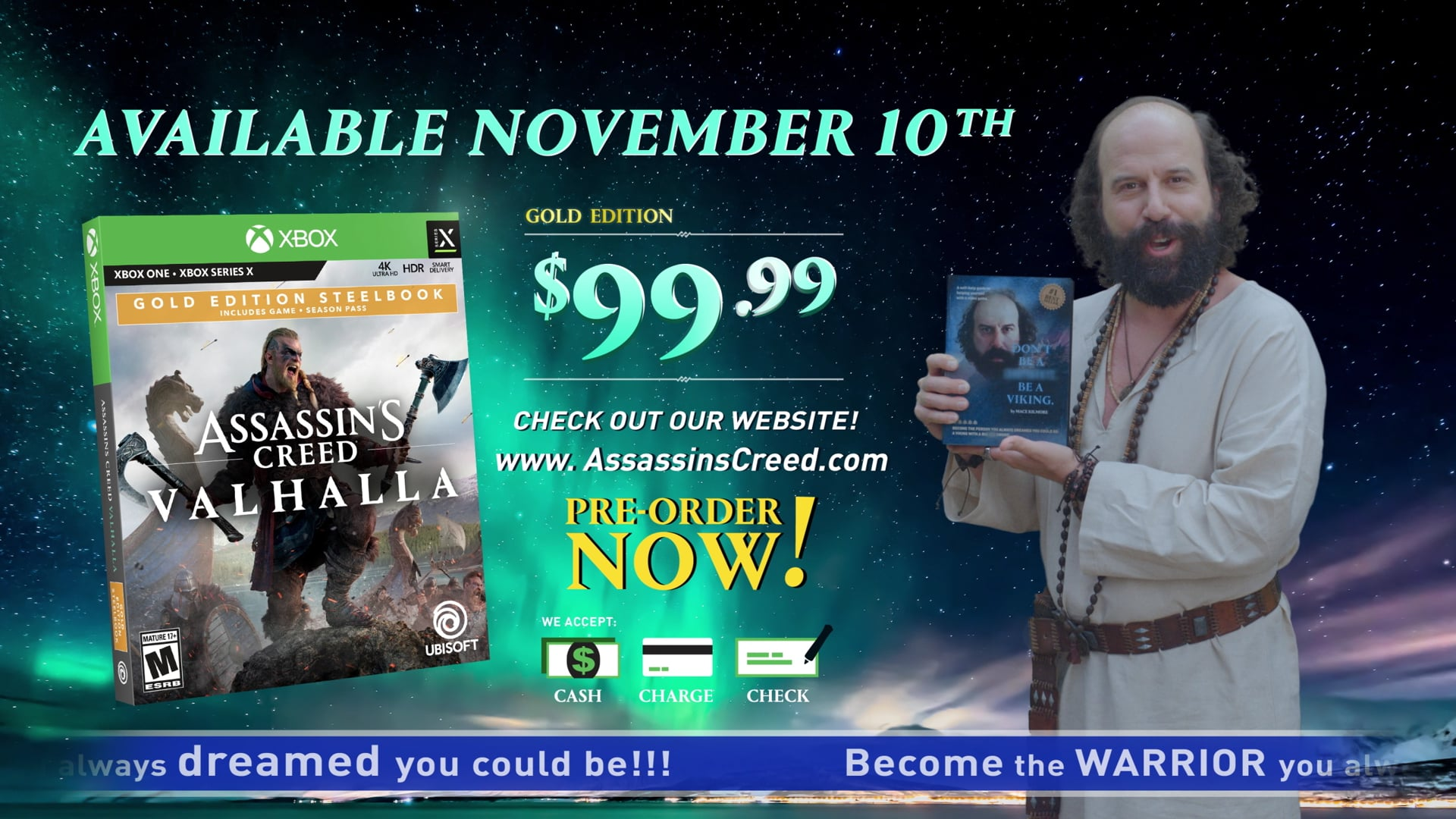 Assassins Creed Valhalla - Unleash :45