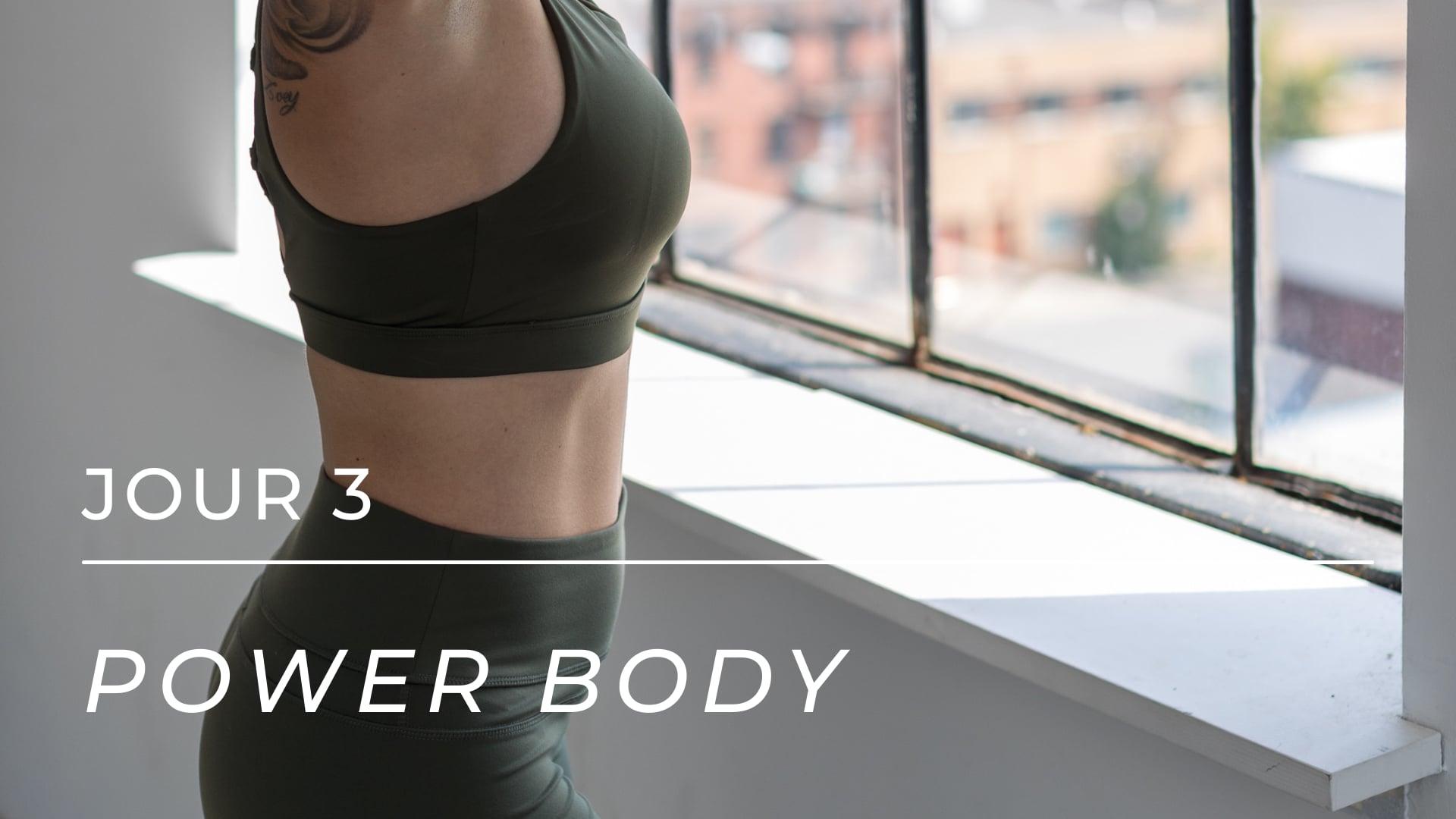 POWER BODY - Jour 3