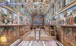 You can now experience the Sistine Chapel without going to Rome!