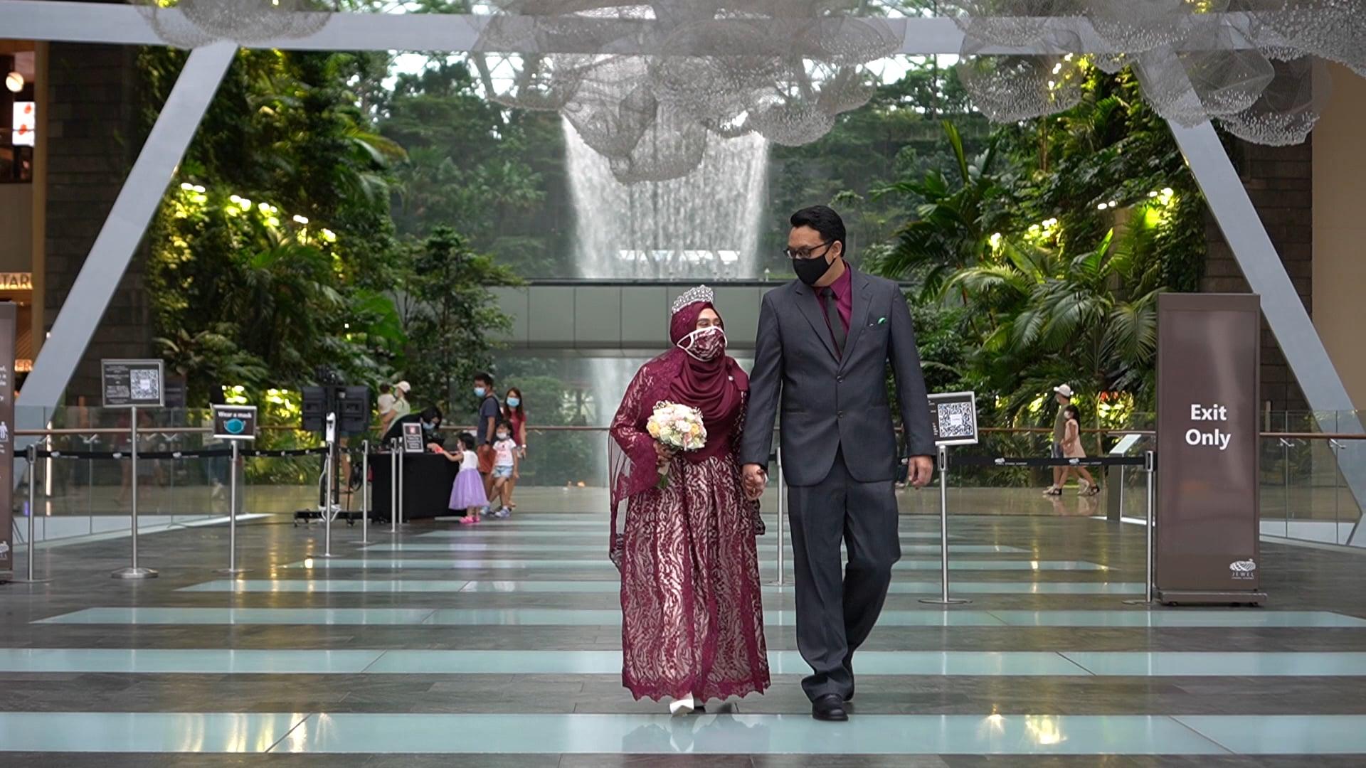 The wedding highlights of Saeed & Rafidah - 27th March 2021