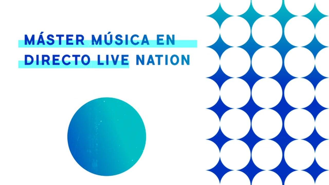 Máster Música en Directo Live Nation UCM