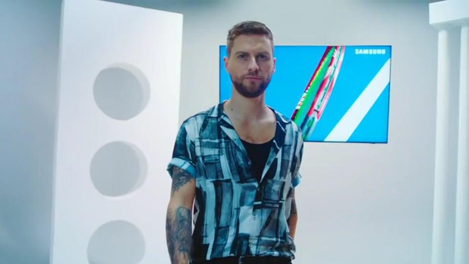 Jean Philippe Cretton Campaña TV Samsung Mobile View