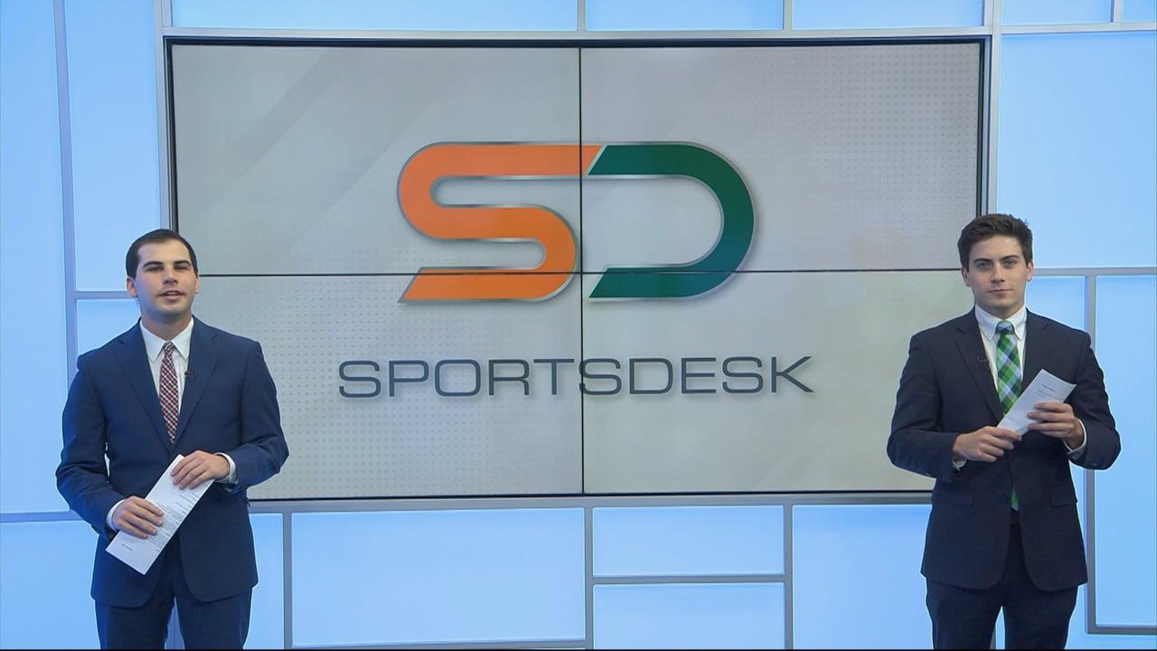SportsDesk @ 7pm   April 2, 2021   UMTV Live