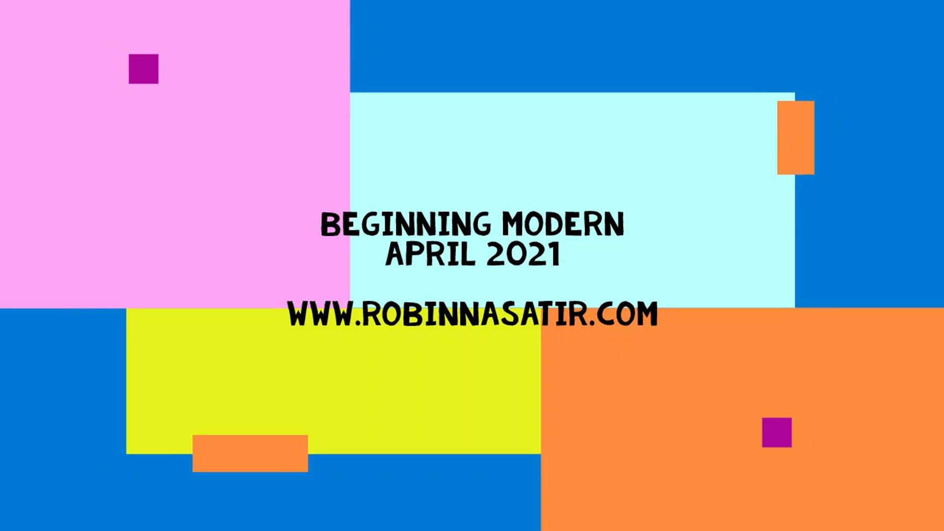 April 2021 Beginning Modern Dance for 50+