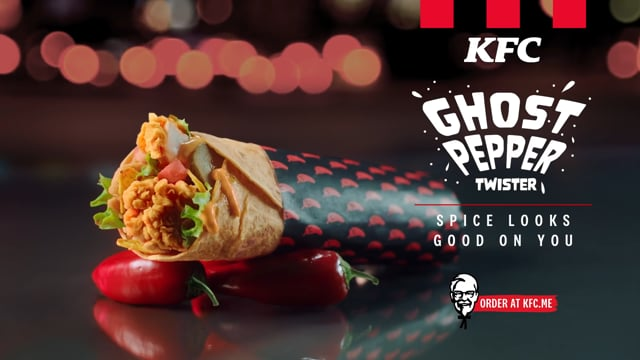 The Ghost Pepper Twister from KFC 1