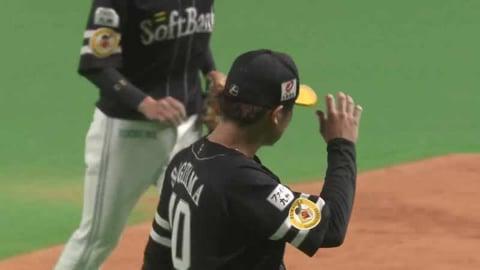 【6回裏】ホークス・杉山が1回を無失点に抑える力投!! 2021/4/7 F-H